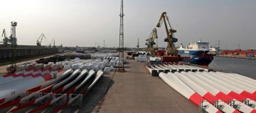 Wind Turbine Blades Test Facility, Nordac Rostock Harbour