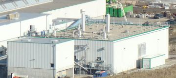 Waste Fermentation (Bio-Gas) Plant Rostock, Germany